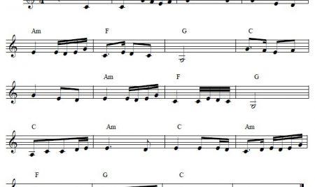 Bèo Dạt Mây Trôi (Sheet Music)