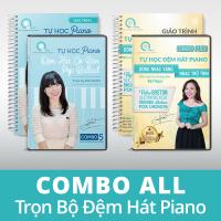 DVD COMBO ALL  (Trọn bộ đệm hát piano cơ bản)