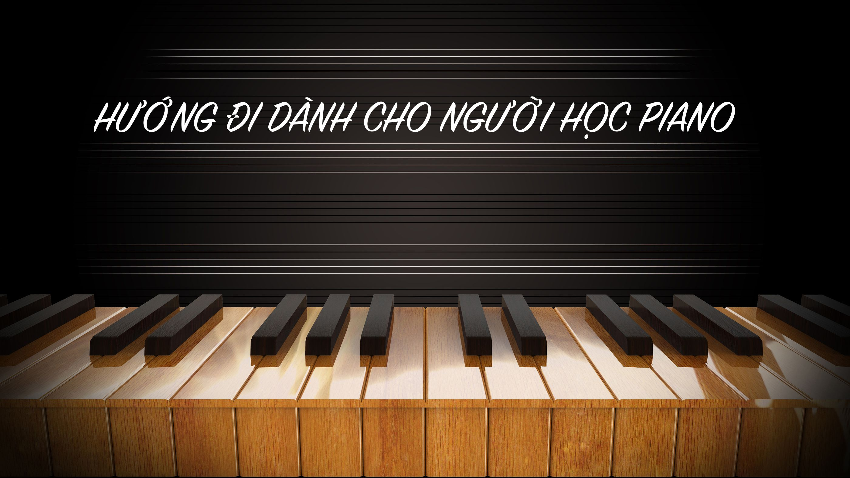 illustration of Piano keys wood for music background