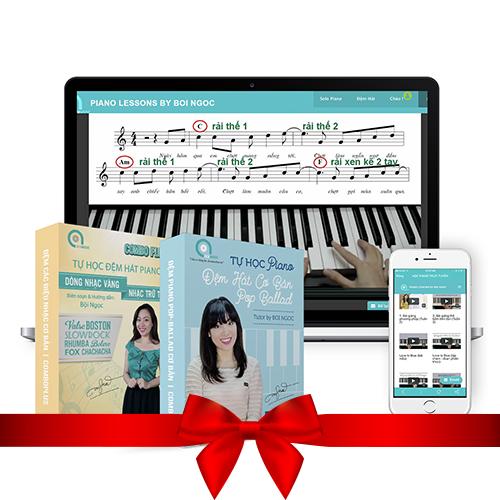 trọn bộ khoá học đệm piano cơ bản