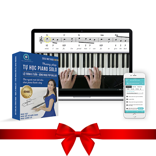 khoa hoc online piano solo method