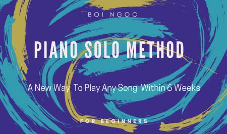 Bội Ngọc phát hành sách Piano Solo Method phiên bản tiếng Anh trên Amazon
