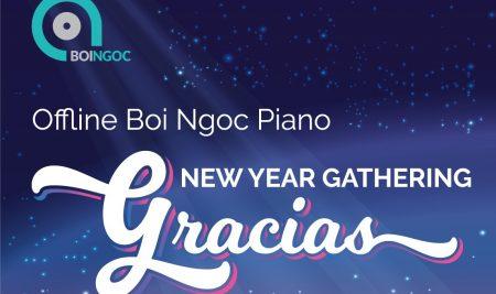 Offline Bội Ngọc Piano I New Year Gathering – Gracias vào tháng 1/2018