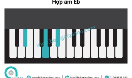 6 hợp âm cơ bản thường dùng khi đệm hát giọng Eb– Cm (Mi giáng trưởng –  Đô thứ)