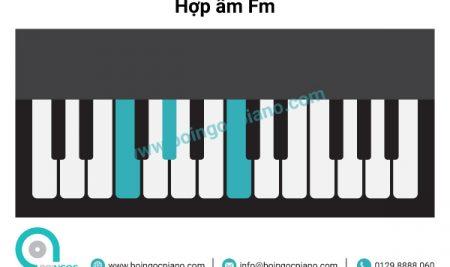 6 hợp âm cơ bản thường dùng khi đệm hát giọng Ab – Fm (La giáng trưởng –  Fa thứ)