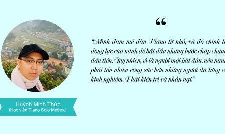 """Huỳnh Minh Thức- """"Phải kiên trì và nhẫn nại để đạt được mục tiêu"""""""