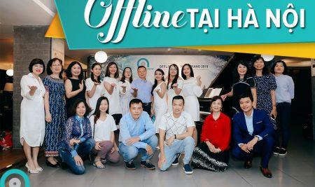 Offline Bội Ngọc Piano 2019 tại Hà Nội- Đêm của những nụ cười