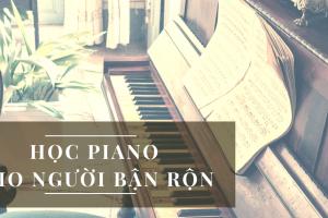 học piano cho người bận rộn