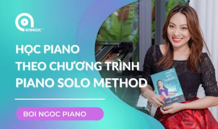 Học piano online hiệu quả theo chương trình Piano Solo Method
